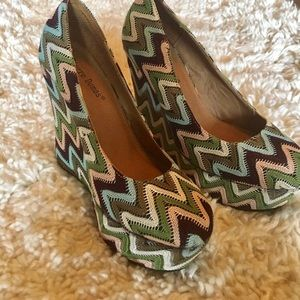 Crochet Chevron Wedges